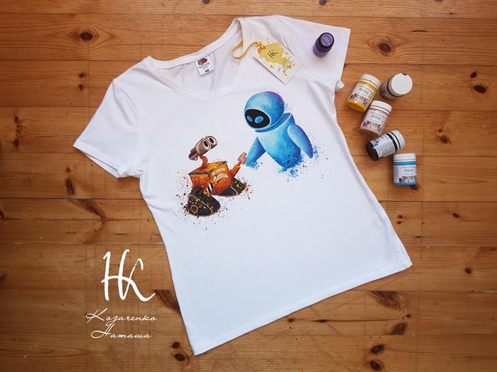 Ручная роспись WALL-E