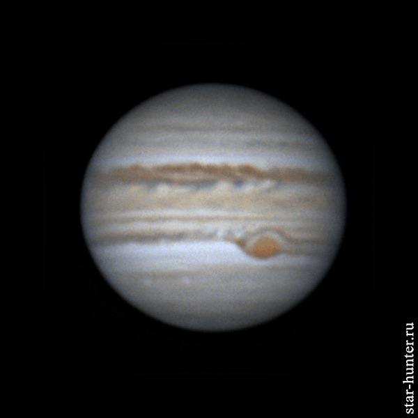 Юпитер, 21 мая 2019 года, 03:06 Юпитер, Астрофото, Астрономия, Космос, Starhunter, Анападвор, Гифка