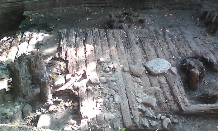 Зарядье. Археология Археология, Зарядье, Археологические раскопки, Длиннопост, Работа, Лопата
