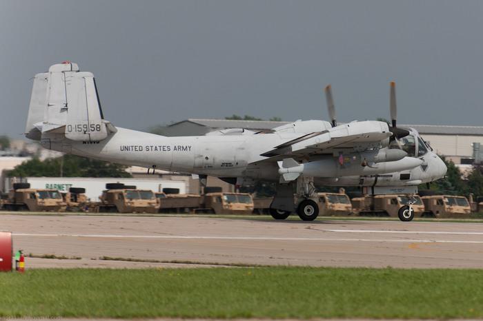 OV-1 Mohawk.Головастик с винтами. Американские самолеты, Легкий самолет, Длиннопост