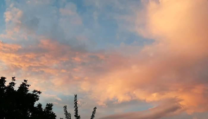 Свеженький закат Закат, Вечер, Свежее, Природа радует, Длиннопост