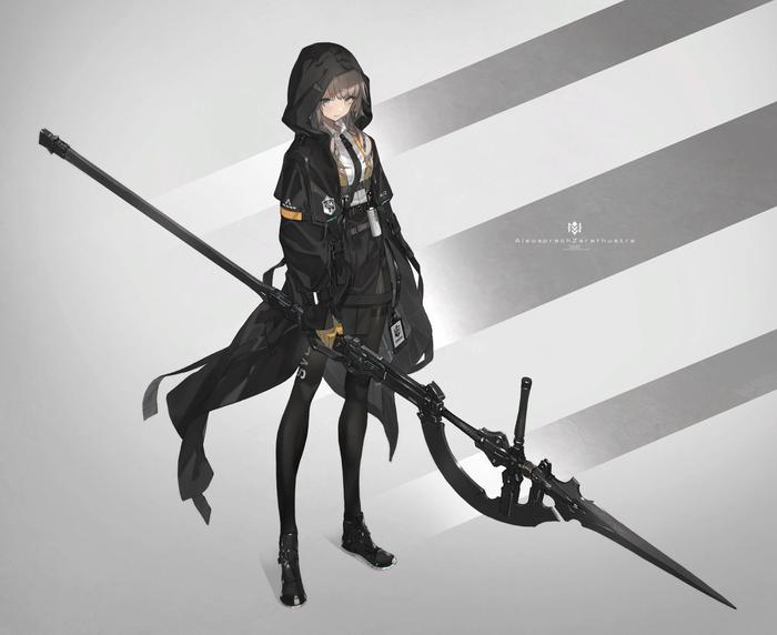 [Art] Battle Girl Аниме, Anime Art, Anime Original