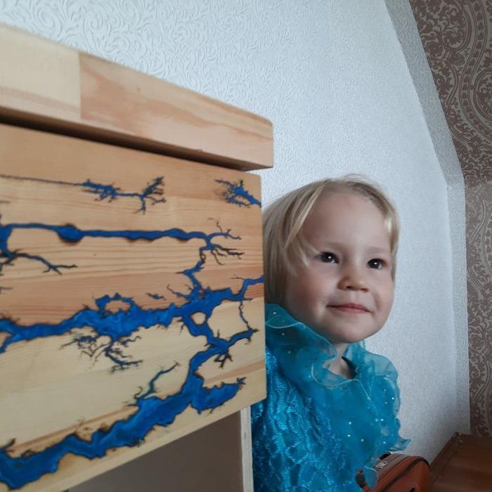 Цвет настроения синий Молния, Дети, Рукоделие без процесса, Подарок, Своими руками