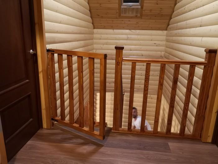 Детское ограждение на лестнице Лестница, Гараж, Строительство