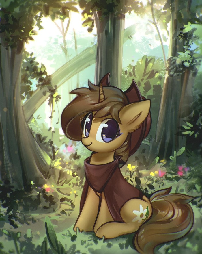 Понь My Little Pony, Original Character, Mirroredsea