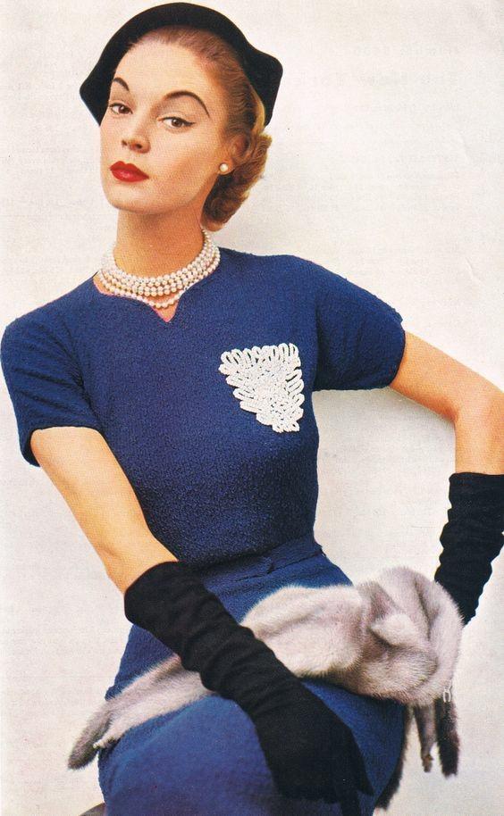 Стройные и винтажные Винтаж, Красивые платья, 50-е, Мода, Длиннопост