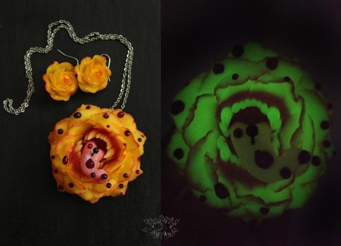 Бубонная роза Полимерная глина, Крипота, Чума, Бубонная чума, Роза