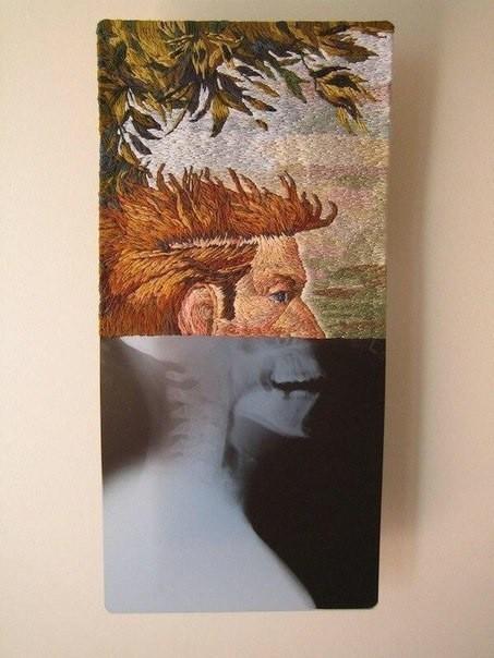 Борьба с рутиной .... Медицина, Искусство, Длиннопост, Крипота