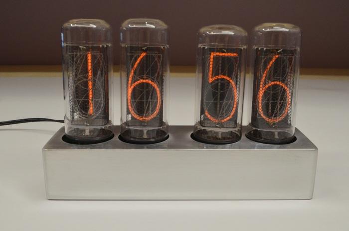 Nixie clock на индикаторах ИН-18 Своими руками, Ламповые часы, Видео, Длиннопост