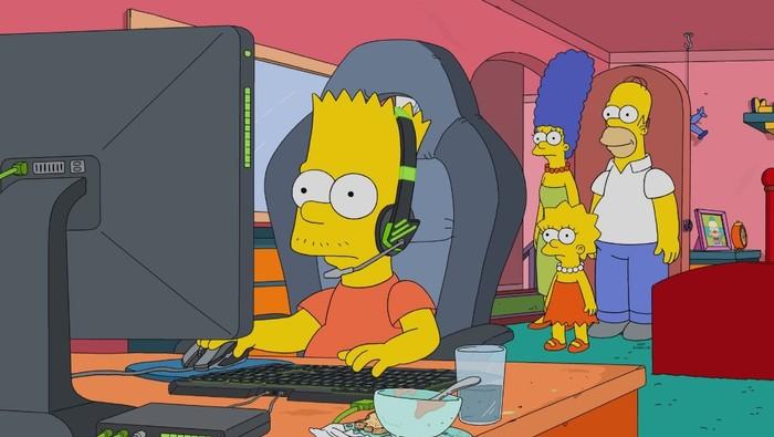 Симпсоны на каждый день [24_Мая] Симпсоны, Каждый день, Видеоигра, Компьютерные игры, Гифка, Длиннопост