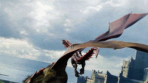 Определение пола у драконов Игра престолов, Дракон, Дрогон, ПЛИО, Гифка