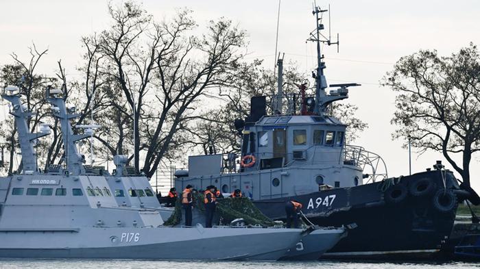 Морской трибунал потребовал от России освободить украинских моряков Украина, Россия, Крым, Политика, Новости