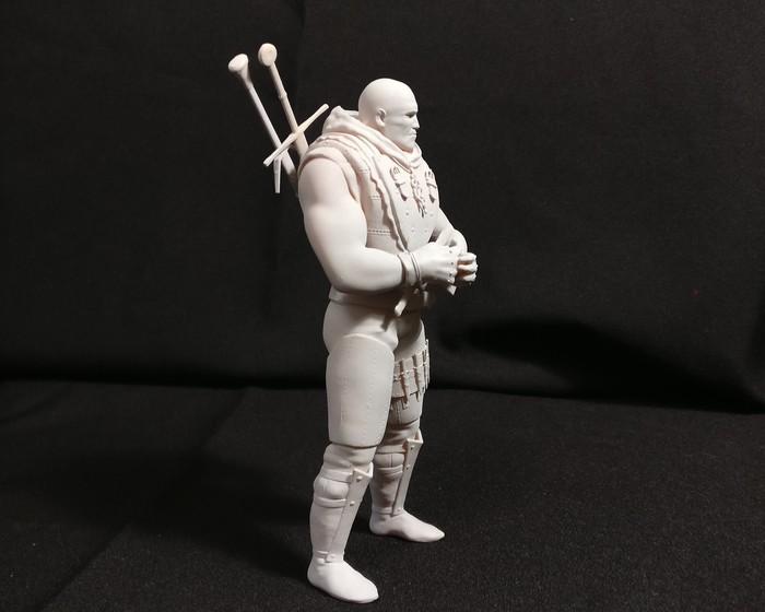 Лето из Гулеты. ч3 печать. Авторская игрушка, Фигурка, 3D моделирование, Ведьмак, Zbrush, 3D печать, Длиннопост, Лето из гулеты