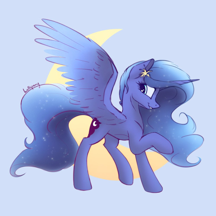 Её Величество My Little Pony, Princess Luna, Lolliponybrony