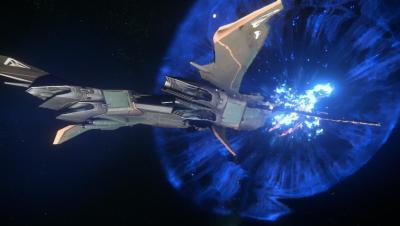 StarCitizen_Story - Мысли одного охранника Ч-2. Полёт Космос, Star citizen, Рассказ, Фантастика, Компьютерные игры, Длиннопост