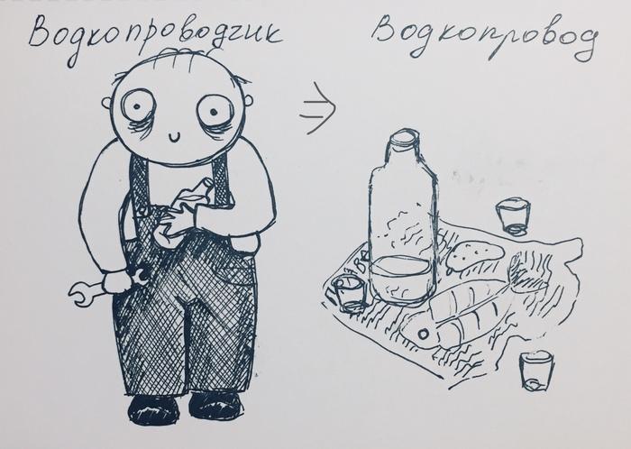 Химера Комиксы, Водопровод, Водка