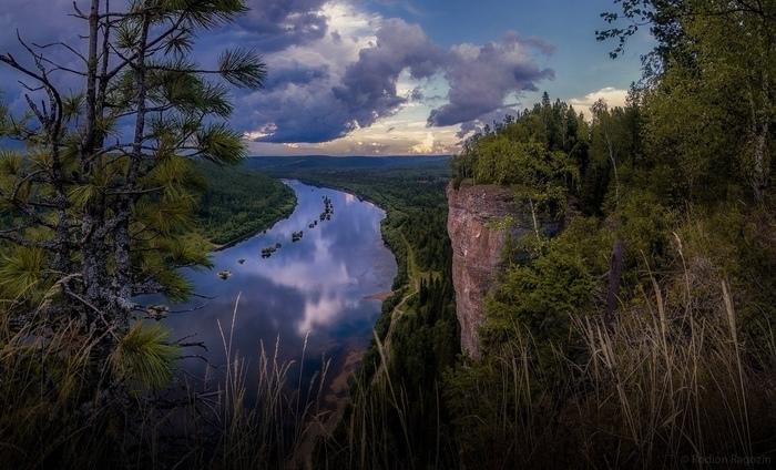 «Перед грозой» Фотография, Гроза, Россия, Красота природы