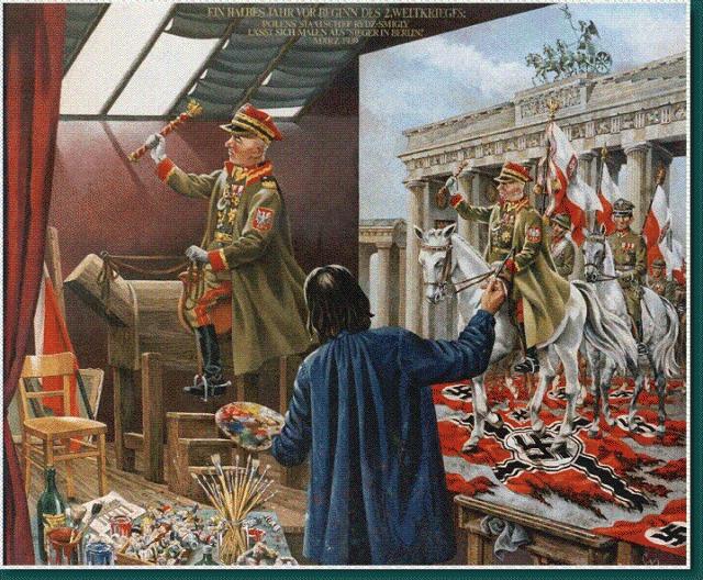 Как Польша воевала. Война Война, Вторая мировая война, Польша, Германия, История, СССР, Правда, Гифка, Длиннопост