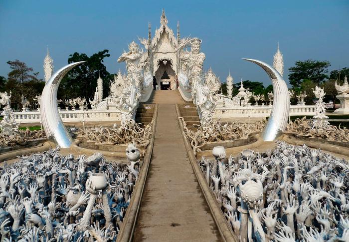 Белый Храм ~ Таиланд Архитектура, Арт, Фотография, Длиннопост, Таиланд, Храм