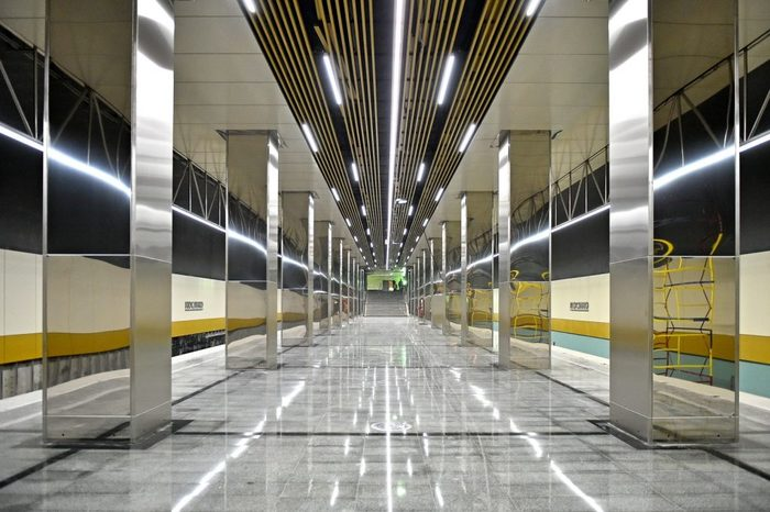 Открылась новая ветка метро в Москве Москва, Метро, Некрасовка, Новости, Длиннопост