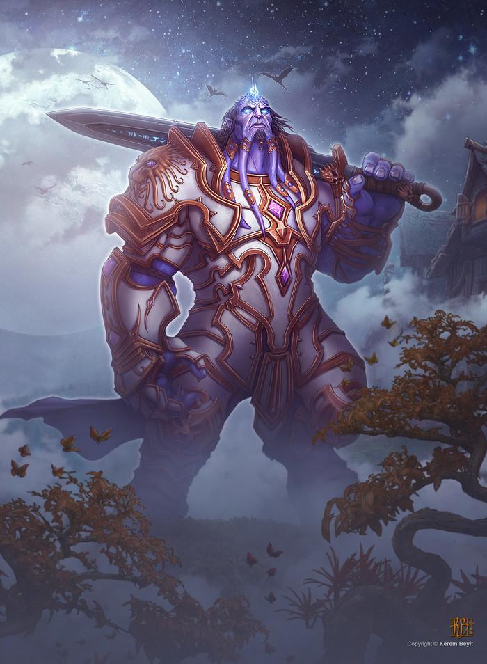 Iron Alliance. Арт, Фан-Арт, Дренеи, Гномы, Пандарен, Альянс, Картинки, Длиннопост, World of Warcraft