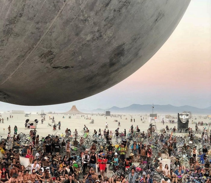Burning Man 2018 Burning Man, Футуризм, Безумный Макс, Видео, Длиннопост, Фестиваль
