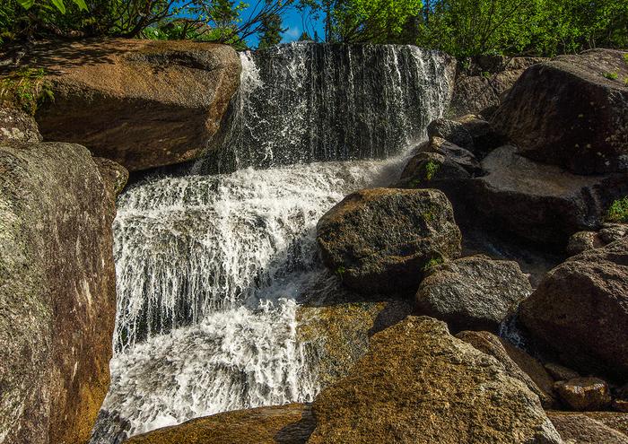Каскад водопадов и Малахитовая ванна Ергаки, Путешествия, Активный отдых, Отдых на природе, Отдых в России, Длиннопост