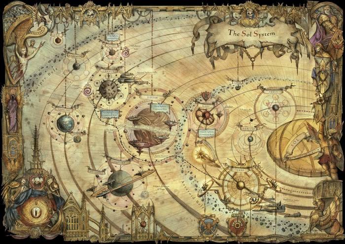 Война за солнечную систему Warhammer 40k, Warhammer 30k, Спойлер, The Solar War, Horus Heresy, Длиннопост, Wh Art, Wh back