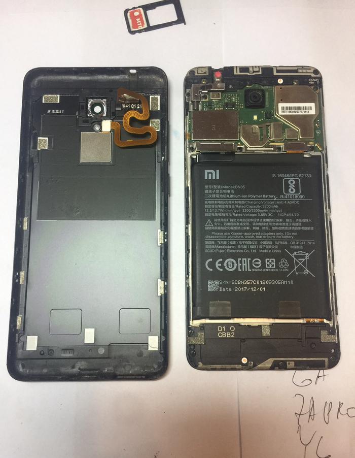 Легкий ремонт смартфона Xiaomi Redmi 5, замена дисплея Ремонт телефона, Xiaomi, Длиннопост