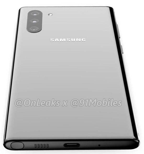 Первая крупная утечка дизайна Samsung Galaxy Note 10 Samsung, Android, Google, Samsung Galaxy, Длиннопост