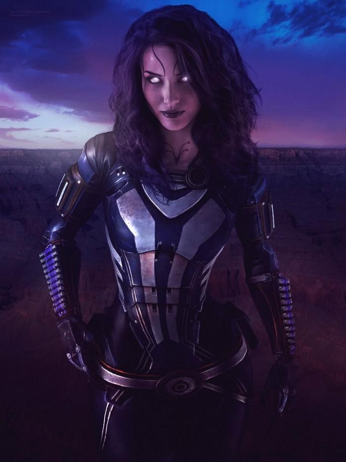 Тали' Зора без маски - Mass Effect Mass Effect, Tali Zorah, Обои на рабочий стол, Постер, Фотоманипуляции, Длиннопост