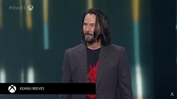 Кеану Ривз получил роль в Cyberpunk 2077 + дата выхода Игры, Cyberpunk 2077, E3, Киану Ривз