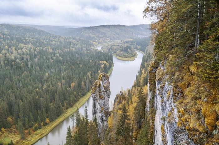 Река Усьва - одно из красивейших мест Пермского края Река, Лето, Пейзаж, Урал, Усьва, Длиннопост
