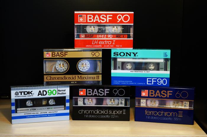 Запечатанные кассеты. Ностальгия, Аудио кассеты, Фотография, Длиннопост