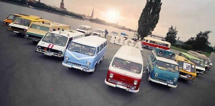 Возрождение марки РАФ: фото первой машины (это «Газель») Авто, Автопром, Автобус, Раф, Газель, Рига, Длиннопост