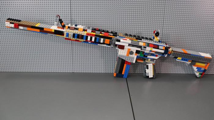 Винтовка из ЛЕГО LEGO, Винтовка
