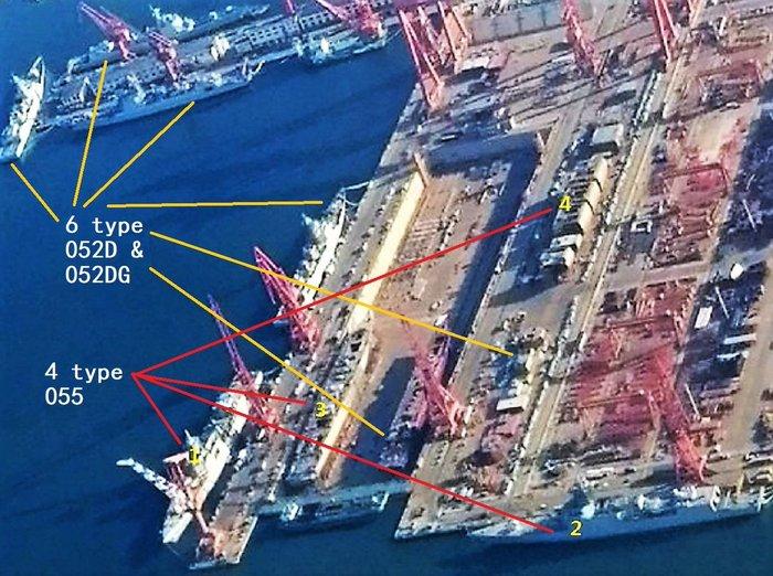 Китайский кораблестроительный конвейер за работой Китай, ВМС НОАК, Флот, Строительство, Вооружение, Видео, Длиннопост