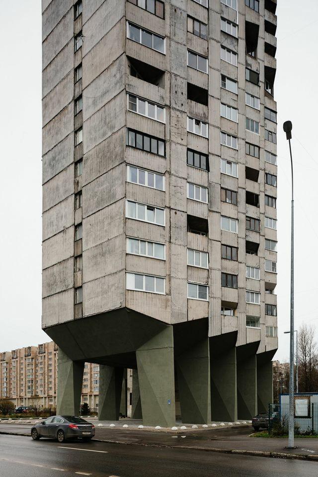 """Я живу в доме на """"куриных ножках"""". Архитектура, Санкт-Петербург, Дом, Длиннопост"""