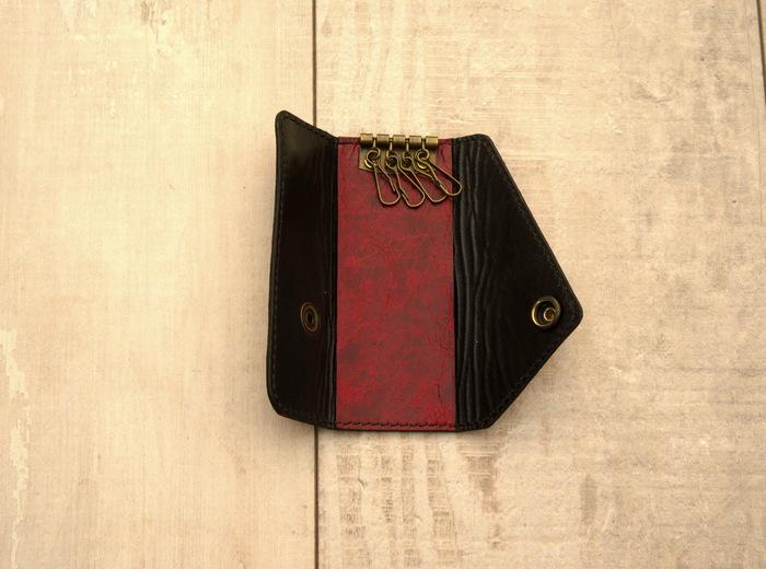 Вишневый кожаный комплект. Кожаный кошелек, Изделия из кожи, Рукоделие без процесса, Своими руками, Ручная работа, Видео, Длиннопост