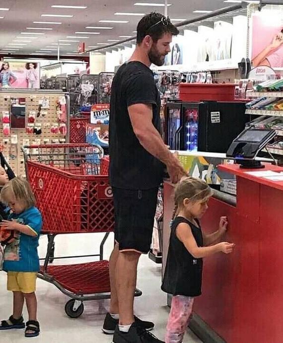 Мстители, Общий жор! Мстители, Marvel, Актеры, Покупка, Супермаркет, Длиннопост