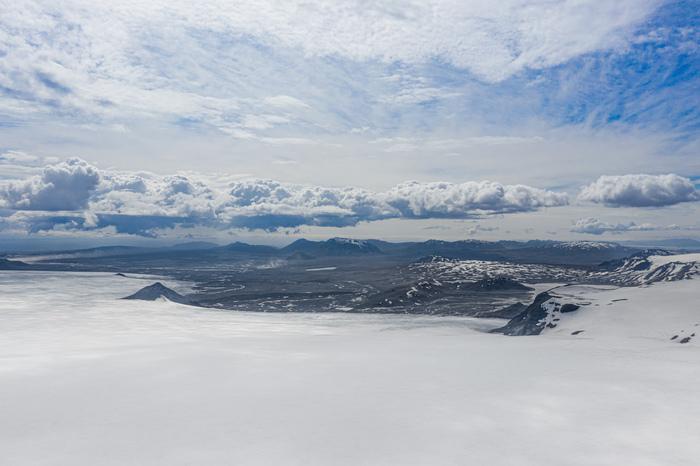 Ледник Лангйёкюдль, Исландия