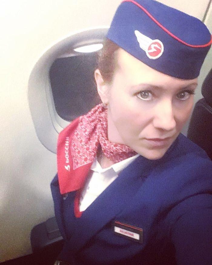 Авиакомпания Россия.... Россия, Авиакомпания Россия, Стюардесса