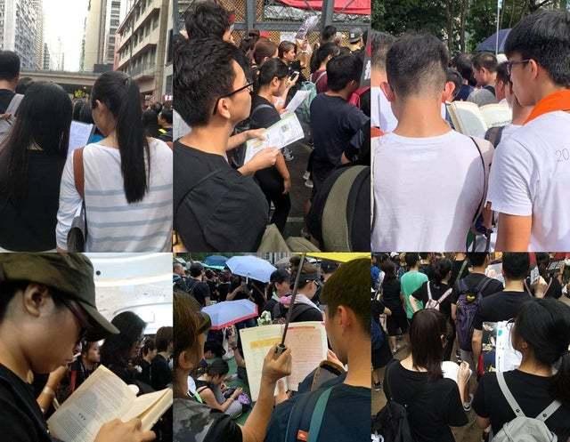 Протесты протестами , а экзамены никто не отменял