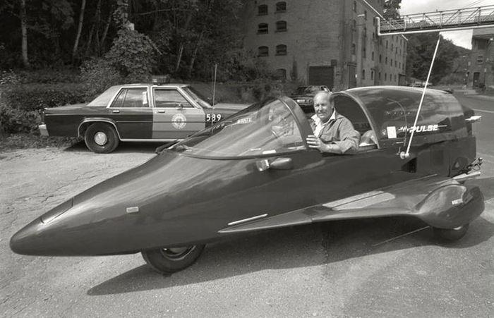 Редкая птица Pulse Autocycle - 1 из 360 единиц. Авто, трицикл или истребитель - выбор за вами! Трицикл, Авто, Байк, Самолет, Pulse, Длиннопост