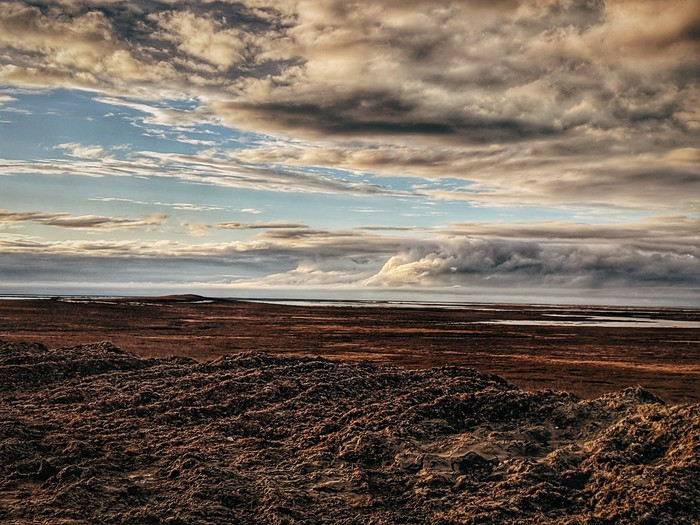 Красоты Ямала Ямал, Север, Тундра, Фото на тапок, Небо, Фотография, Длиннопост