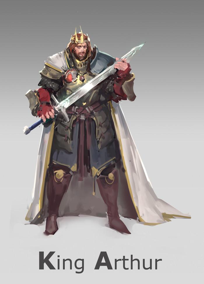 Короли Артуры. Часть 5 Арт, Король Артур, Меч короля Артура, Мерлин, Длиннопост