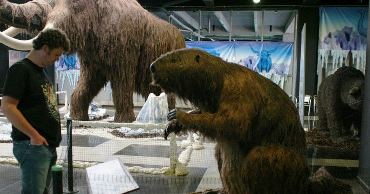 giant animals north america - 1024×683