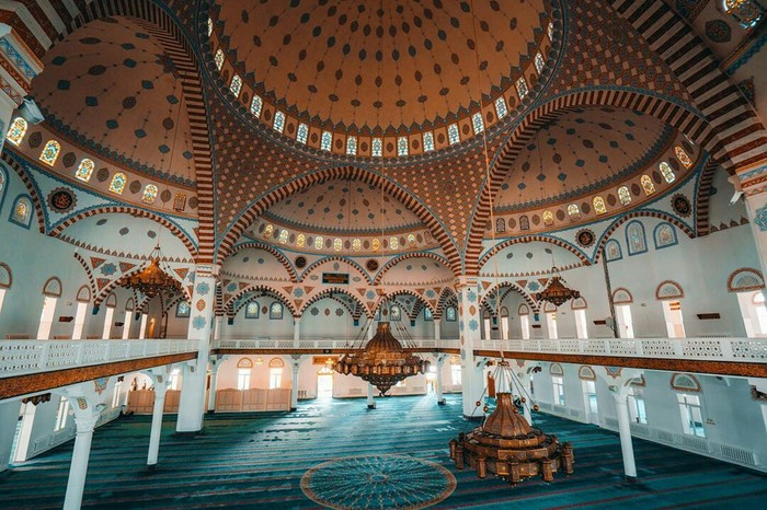 Центральная мечеть Махачкалы, республика Дагестан
