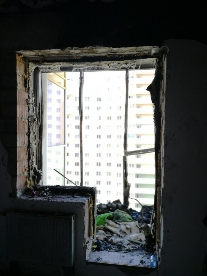 Не кидайте окурки с балкона. Пожар, Квартира, Окурки, Соседи, Длиннопост, Негатив