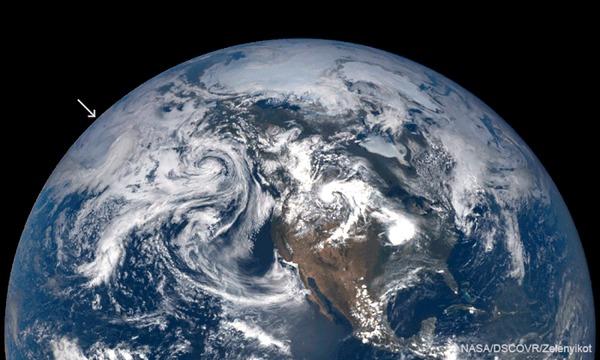 Извержение вулкана Райкоке - взгляд из космоса Космос, Снимки из космоса, Вулкан, Извержение вулкана, Спутник, Гифка, Длиннопост